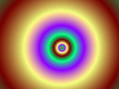 Hypnotherapy concentric rings image